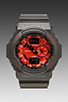 Image 1 of G-Shock GA-150MF-1A in Black/Red