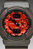Image 2 of G-Shock GA-150MF-1A in Black/Red