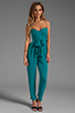 Image 2 of Catherine Malandrino Strapless Bustier Jumpsuit in Belize