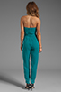Image 4 of Catherine Malandrino Strapless Bustier Jumpsuit in Belize
