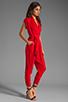 Image 3 of Catherine Malandrino Favorites Cap Sleeve Jumper in Scarlet