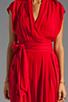 Image 5 of Catherine Malandrino Favorites Cap Sleeve Jumper in Scarlet