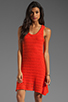 Image 1 of Central Park West Amelia Island Tank Dress in Orange