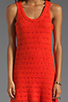 Image 5 of Central Park West Amelia Island Tank Dress in Orange