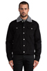 Image 1 of Cheap Monday Buzz Jeans Jacket in Black