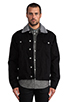 Image 2 of Cheap Monday Buzz Jeans Jacket in Black
