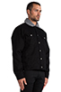 Image 3 of Cheap Monday Buzz Jeans Jacket in Black