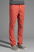 Image 2 of Cheap Monday Slim Chino in Red