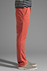 Image 3 of Cheap Monday Slim Chino in Red