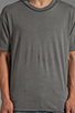 Image 4 of Cheap Monday Bobby Tee in Iron Grey