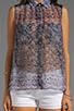 Image 3 of Charles Henry Sleeveless Workshirt in Batik Print