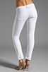 Image 3 of Citizens Of Humanity Racer Lowrise Skinny in Distressed Santorini