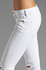 Image 5 of Citizens Of Humanity Racer Lowrise Skinny in Distressed Santorini