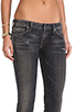 Image 5 of Citizens Of Humanity Racer Low-rise Skinny in Black Slash