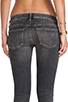 Image 6 of Citizens Of Humanity Racer Low-rise Skinny in Black Slash