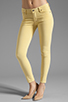 Image 1 of Citizens Of Humanity Thompson Twill Ankle Skinny in Chick