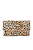 Image 1 of Clare V. Foldover Clutch in Leopard