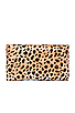 Image 2 of Clare V. Foldover Clutch in Leopard