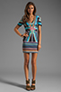 Image 2 of Clover Canyon Midnight Diner Neoprene Dress in Multi