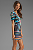 Image 3 of Clover Canyon Midnight Diner Neoprene Dress in Multi