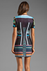 Image 4 of Clover Canyon Midnight Diner Neoprene Dress in Multi