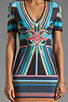 Image 5 of Clover Canyon Midnight Diner Neoprene Dress in Multi