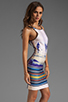 Image 3 of Clover Canyon EXCLUSIVE Endless Summer Neoprene Dress in Multi