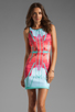 Image 1 of Clover Canyon EXCLUSIVE Lone Rider Neoprene Dress in Multi