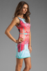 Image 3 of Clover Canyon EXCLUSIVE Lone Rider Neoprene Dress in Multi