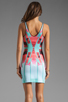 Image 4 of Clover Canyon EXCLUSIVE Lone Rider Neoprene Dress in Multi