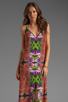Image 1 of Clover Canyon Orchid Trip Dress in Multi