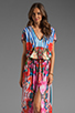 Image 1 of Clover Canyon Liquid Flower Dress in Multi
