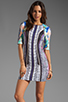 Image 1 of Clover Canyon Jaipur Jungle Neoprene Dress in Multi