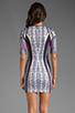 Image 4 of Clover Canyon Jaipur Jungle Neoprene Dress in Multi