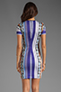 Image 4 of Clover Canyon Gandhi Scarf Neoprene Dress in Multi