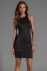 Image 1 of Clover Canyon Neoprene Dress in Black