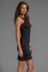 Image 3 of Clover Canyon Neoprene Dress in Black