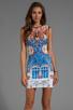 Image 1 of Clover Canyon Pegasus Neoprene Dress in Multi