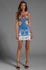 Image 2 of Clover Canyon Pegasus Neoprene Dress in Multi