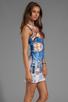 Image 3 of Clover Canyon Pegasus Neoprene Dress in Multi