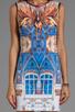 Image 5 of Clover Canyon Pegasus Neoprene Dress in Multi