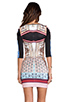 Image 4 of Clover Canyon Royal Palace Interior Neoprene Dress in Multi