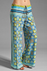 Image 1 of Clover Canyon Art Deco Tiles Wide Leg Pants in Multi