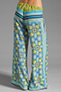 Image 3 of Clover Canyon Art Deco Tiles Wide Leg Pants in Multi