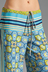 Image 4 of Clover Canyon Art Deco Tiles Wide Leg Pants in Multi
