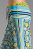 Image 5 of Clover Canyon Art Deco Tiles Wide Leg Pants in Multi