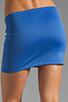 Image 6 of Clover Canyon Zig Zag Rhinestone Neoprene Skirt in Blue