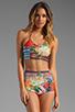 Image 1 of Clover Canyon Liquid Flower Bikini in Multi