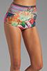 Image 4 of Clover Canyon Liquid Flower Bikini in Multi