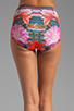 Image 6 of Clover Canyon Liquid Flower Bikini in Multi